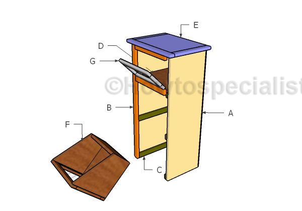 Potato Bin Plans Howtospecialist How To Build Step By