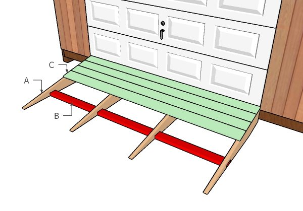 Building a shed ramp