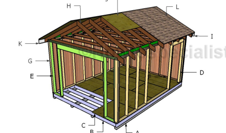 building-a-shed-with-roll-up-door