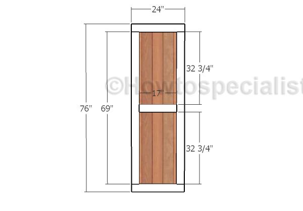 Building the front doors