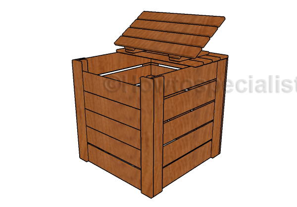Free Compost Bin Plans Howtospecialist How To Build