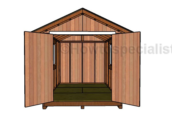 8x12 Shed Doors Plans | HowToSpecialist - How to Build ...