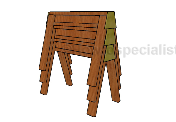 DIY Stackable Sawhorse Plans