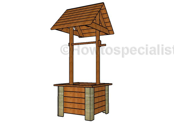decorative-wishing-well-plans