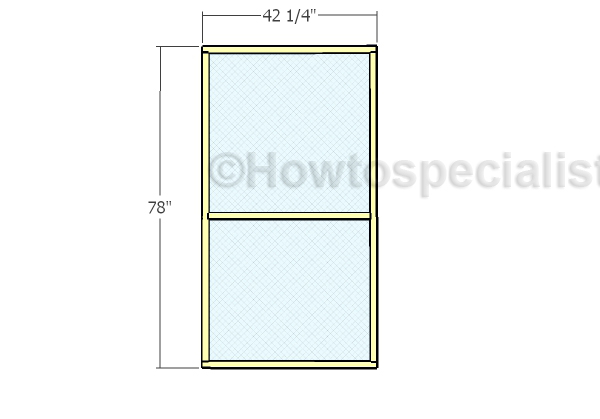 Door fiberglass mesh