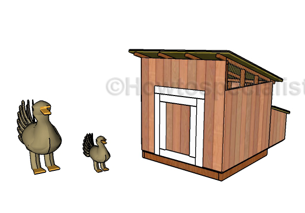 duck house plans howtospecialist how to build step by