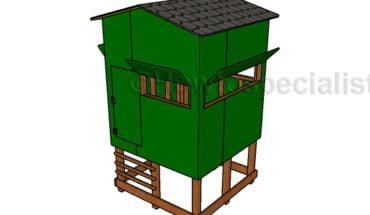 Elevated Deer Blind Plans