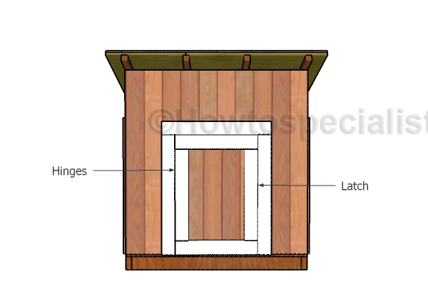 how to build a floating duck house step by step
