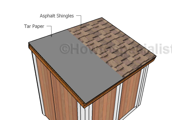 Generator Shed Roof Plans Howtospecialist How To Build