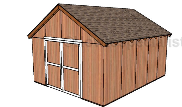Free Pole Barn Plans   HowToSpecialist - How to Build ...