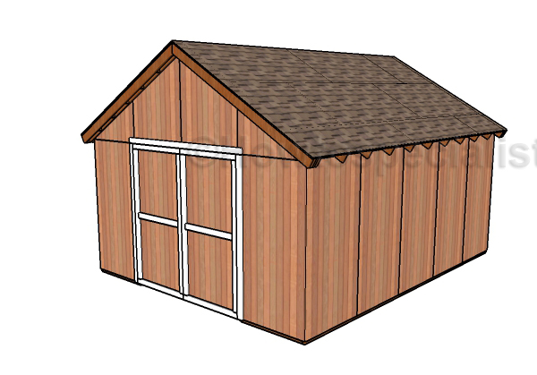 Free pole barn plans howtospecialist how to build for How to build a pole shed step by step