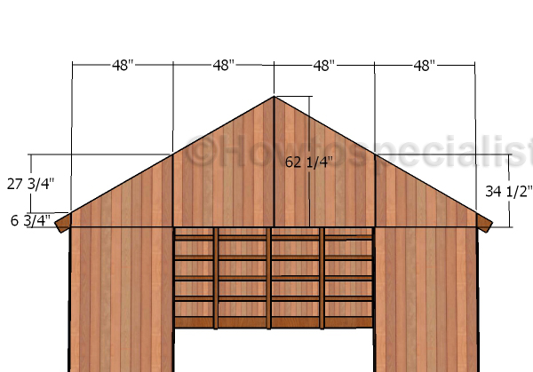 16x20 Pole Barn Roof Plans Howtospecialist How To