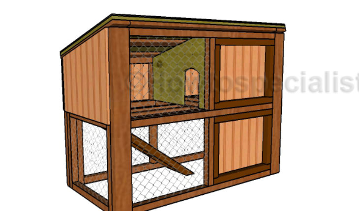 Rabbit hutch plans free diy plans howtospecialist for How to build a rabbit hutch plans free