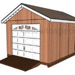 shed-with-garage-door-plans