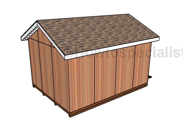 Diy shed ramp plans howtospecialist how to build step for Atv shed plans