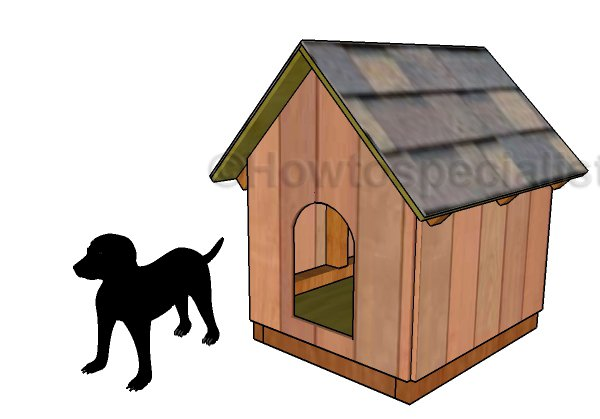 Small Dog House Plans HowToSpecialist How to Build Step by
