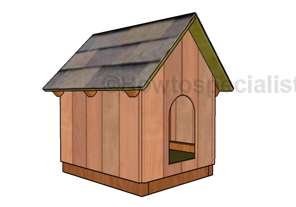 Small and Simple Dog House Plans