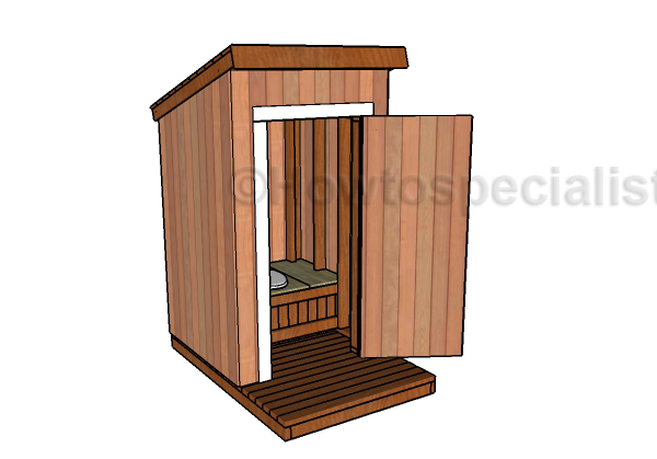 Free Outhouse Plans Howtospecialist How To Build Step