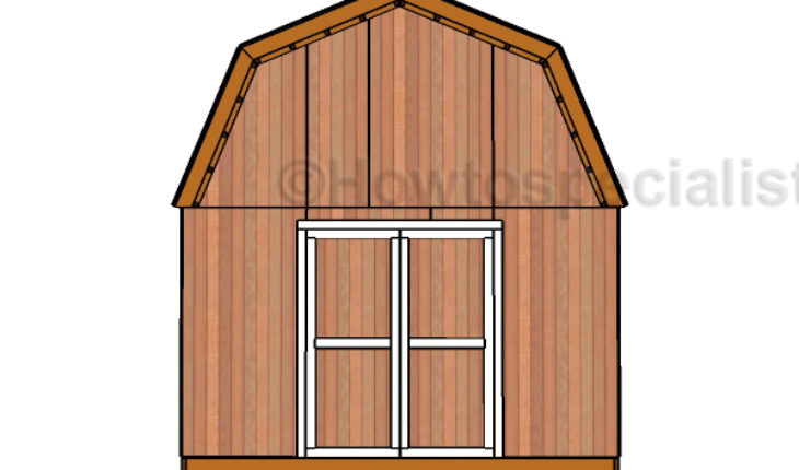 This Step By Step Woodworking Project Is About Free 8×16 Garden Shed Door  Plans. This Is PART 3 Of The Project, Where I Show You How To Build The  Double ...
