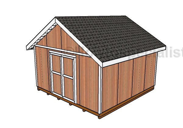 16x16 Shed Plans
