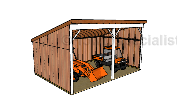 16x24 Run In Shed Plans Free