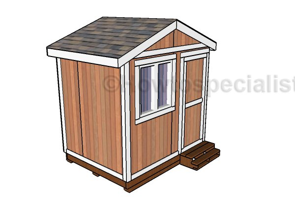 6x8 Garden Shed Plans