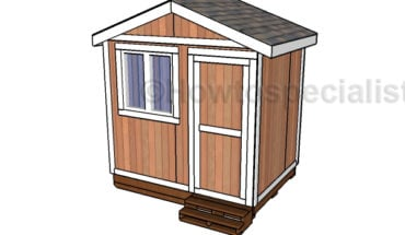 6x8 Small Garden Shed Plans