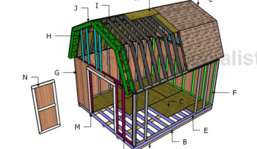 Building a 14x16 barn shed