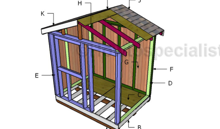 Building a 6x8 garden shed