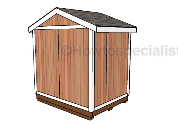 How to build a small garden shed