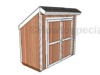 Lean to Storage Shed Plans