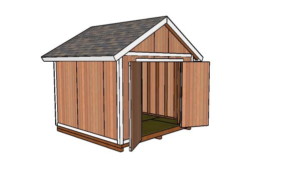 10x10 shed - Free DIY Plans