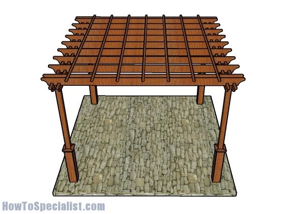 12x12 Pergola - Free DIY Plans