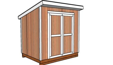 6x8 shed plans free