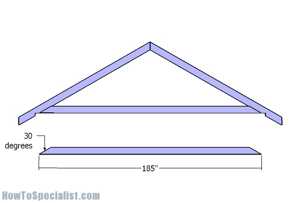 16x20 Gable Shed Roof Plans Howtospecialist How To