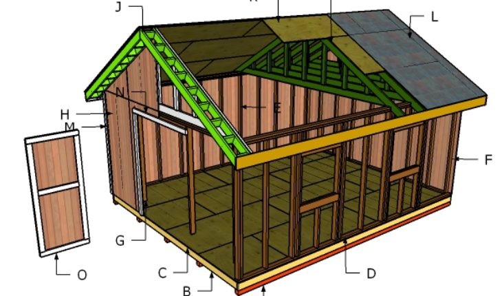 Building a 16x20 shed