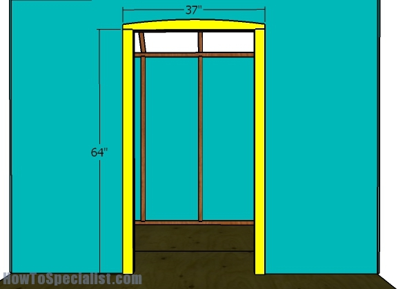 Front door - Trims