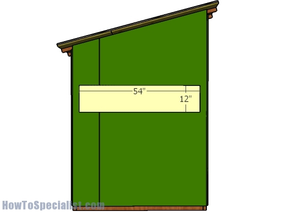 5x5 Deer Blind Roof Plans Howtospecialist How To Build