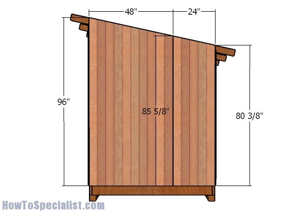 Side panel - siding