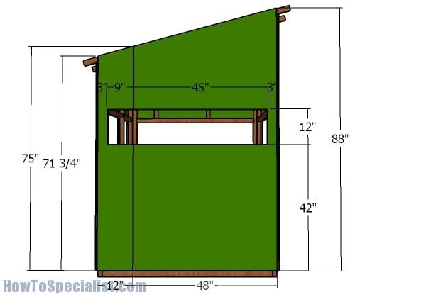 Side walls - Exterior
