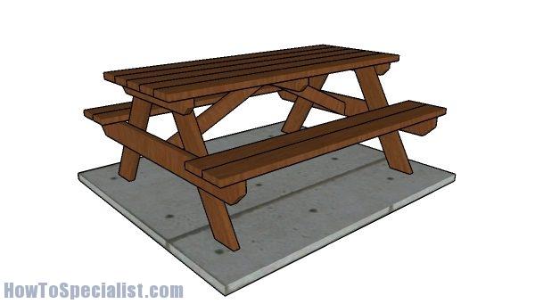 6' Picnic Table Plans