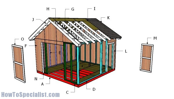 Building a 14x14 shed