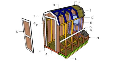 Building a 4x8 chicken coop