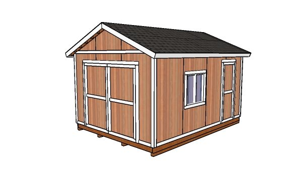 Free 12x16 shed plans
