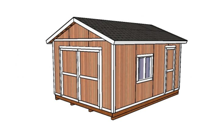 Free 12x16 Garden Shed Plans | HowToSpecialist - How to ...