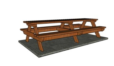 10 foot Picnic Table