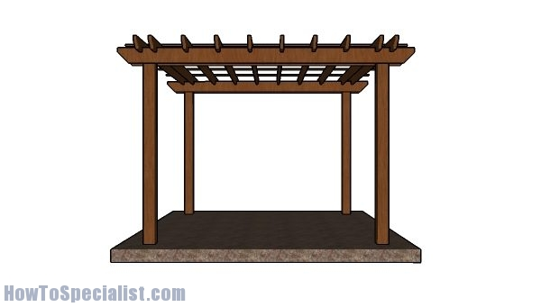 10x10 Pergola Plans - Free DIY Tutorial