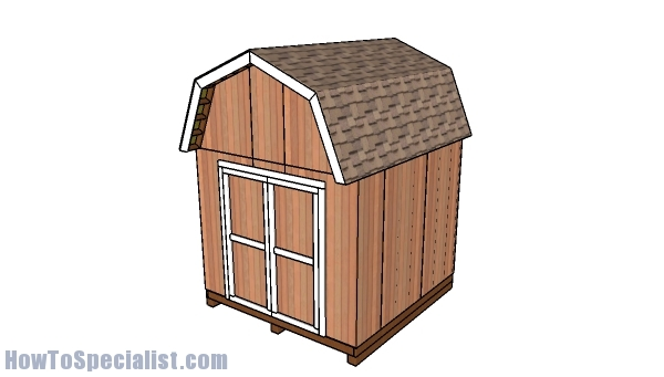 10x10 Shed Plans Gambrel Shed Howtospecialist How To