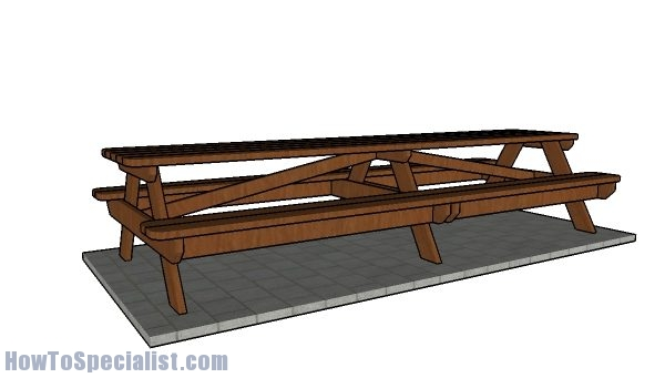 12 foot Picnic Table