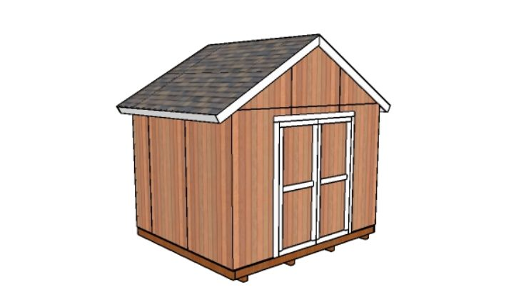12x10 Shed Plans